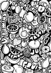 Healthy Food Doodle