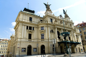 Vinohrady Theater in Prague