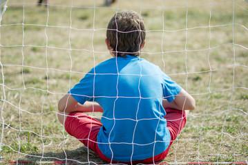 boy goalkeeper