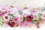 プリザーブドフラワー バラ ピンクのバラ © Chikako Kamitori