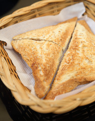 triangle hot sandwiches