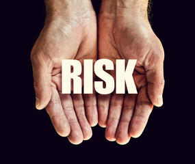 risk hands