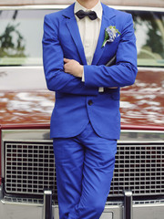 Groom at Car