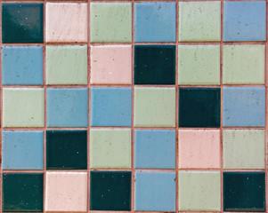 Разноцветная плитка