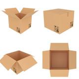 set carboard box