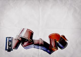 35mm film paper texture
