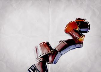 camera film paper backdrop