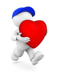 Herz vergeben