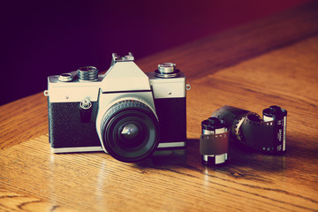 film and slr camera