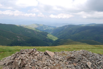 Cairn in The Osogovo Mountains