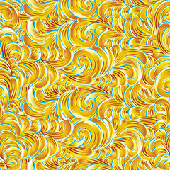 Waves. seamless vector background.