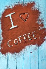 Ich liebe Kaffee