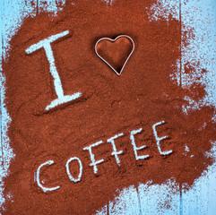 aus Liebe zum Kaffee