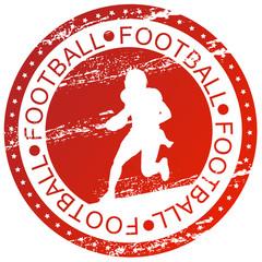 Sports stamp - Football