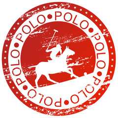 Sports stamp - Polo