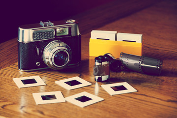 old style photography