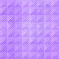 Violet triangle pattern tissue