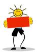 Figur Sonne Schild