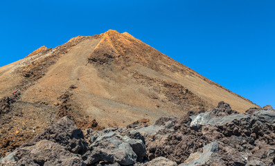 Peak of the Teide volcano in Tenerife