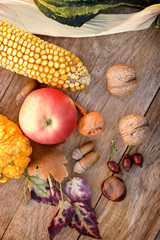 Autumn arrives with autumn harvest