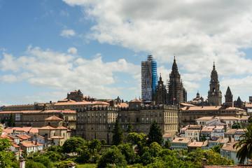 Catedral de Santiago desde alameda IV