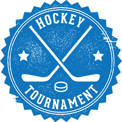 Hockey Tournament Stamp