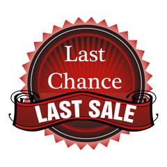 Last chance last sale