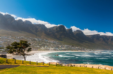 Beach in Cape Town South Africa