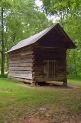 Vintage Barn Shed at Farm rural Georgia