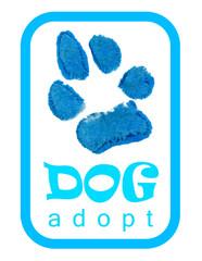 pets logo adopt.