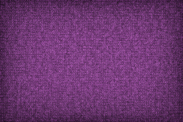 Woolen Woven Fabric Dark Purple Grunge Texture Sample