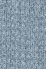 Woolen Woven Fabric Light Powder Blue Grunge Texture