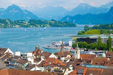 Luzern und Vierwaldstättersee