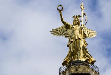 Vittoria alata, colonna della vittoria - Berlino