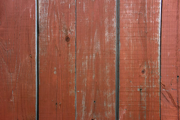 Old painted boards