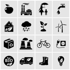 ECO icons set