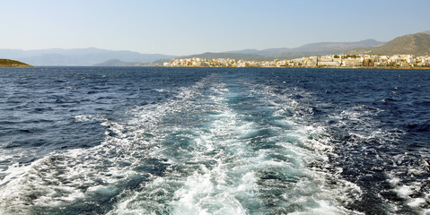 Sitia town and sea, greece, europe