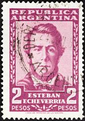 Poet Esteban Echeverria (Argentina 1957)