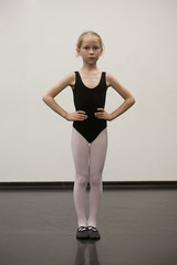 little ballet girl