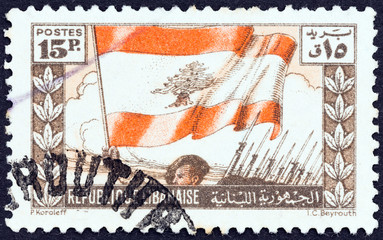 National Flag (Lebanon 1946)