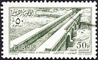 Litani Irrigation Canal (Lebanon 1954)