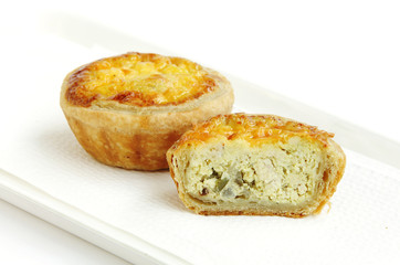 Delicious chicken tarts