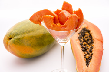 Get a healthy start of your day with Papaya!.