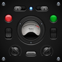 Carbon UI Application Software Controls Set