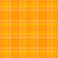 yellow orange plaid