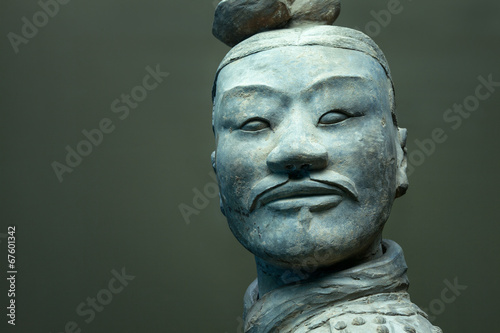 Fotobehang Xian Terracotta Warrior