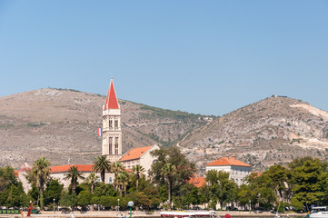 Old town of Trogir in Croatia