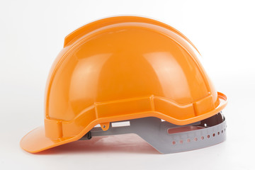 Orange safety hat i