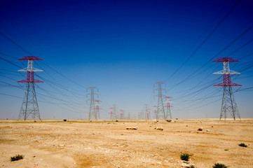 Energy, power in the Qatar desert