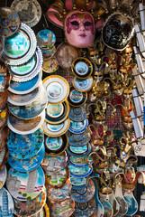 Souvenir, oggetti di ricordo bancarella, Pisa